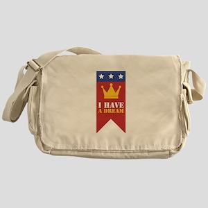 I Have A Dream Messenger Bag