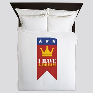 I Have A Dream Queen Duvet