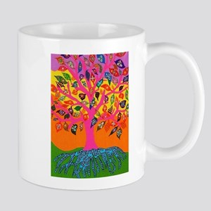 Jewish Tree Of Life - Knowledge Jennifer Mugs