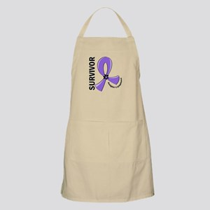 Hodgkin's Lymphoma Survivor 12 Apron