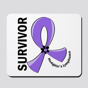 Hodgkin's Lymphoma Survivor 12 Mousepad