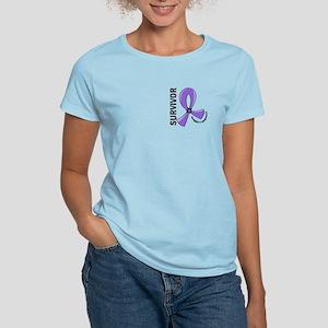 Hodgkin's Lymphoma Survivor Women's Light T-Shirt