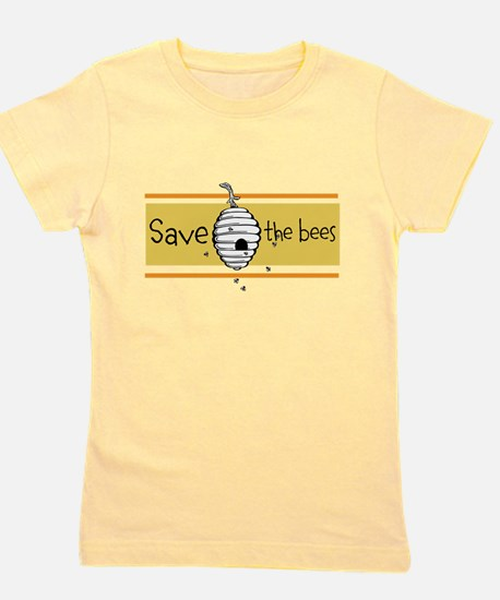 Save The Bees Girl's Tee