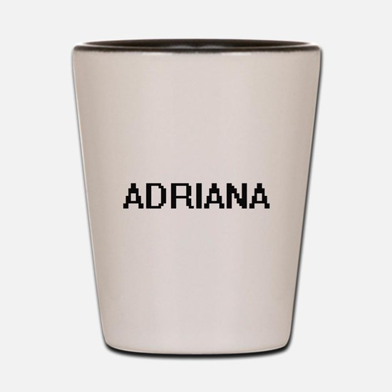 Adriana Digital Name Shot Glass