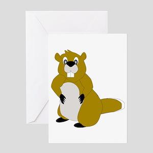 Beaver Greeting Cards