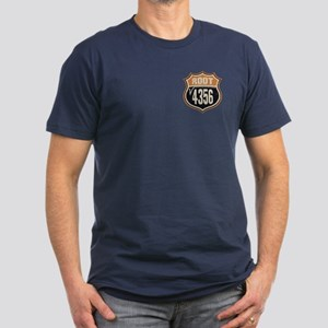 Square Root 66 Men's Fitted T-Shirt (dark)