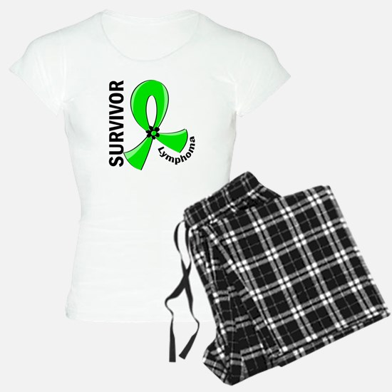 Lymphoma Survivor 12 Pajamas