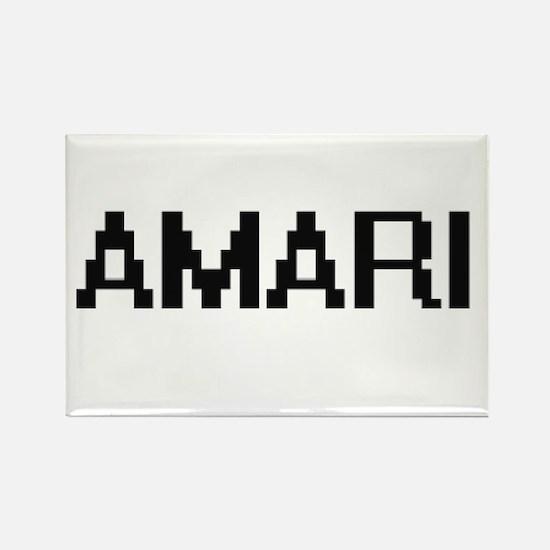 Amari Digital Name Magnets