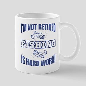 Retirement Fishing Humor Mug
