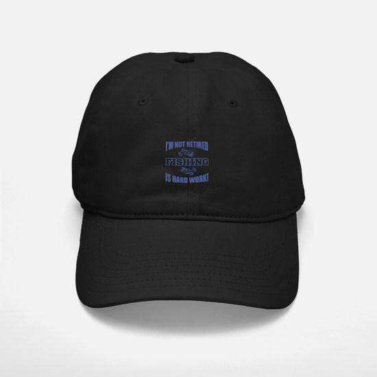 Retirement Fishing Humor Baseball Hat