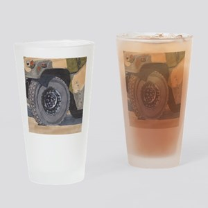 Humvee Is For Victory Drinking Glass