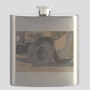 Humvee Is For Victory Flask