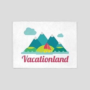 Vacationland 5'x7'Area Rug