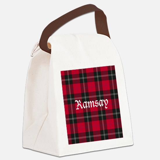 Tartan - Ramsay Canvas Lunch Bag