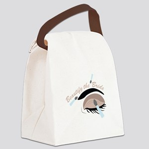 Beautify The Bride Canvas Lunch Bag