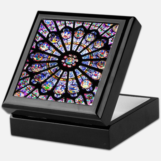 Unique Stained glass Keepsake Box
