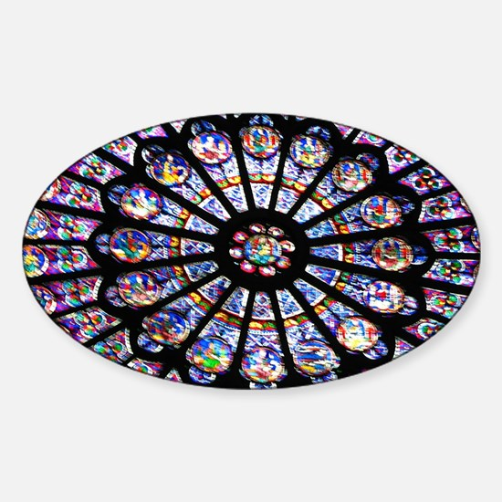Unique Cathedral Sticker (Oval)