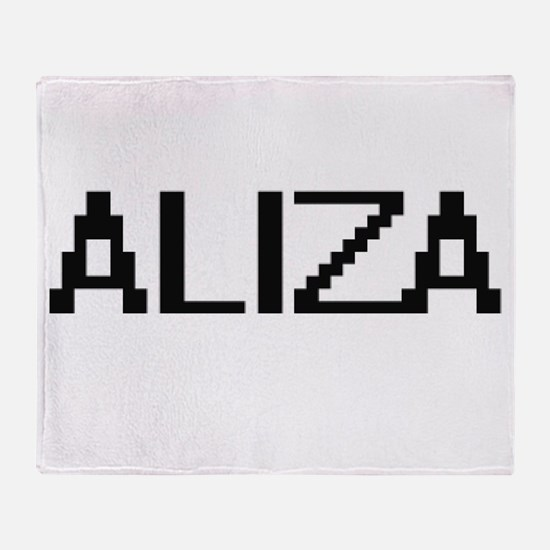 Aliza Digital Name Throw Blanket