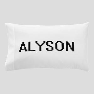 Alyson Digital Name Pillow Case