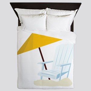 Beach Chair Queen Duvet
