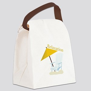 Relaxation Canvas Lunch Bag