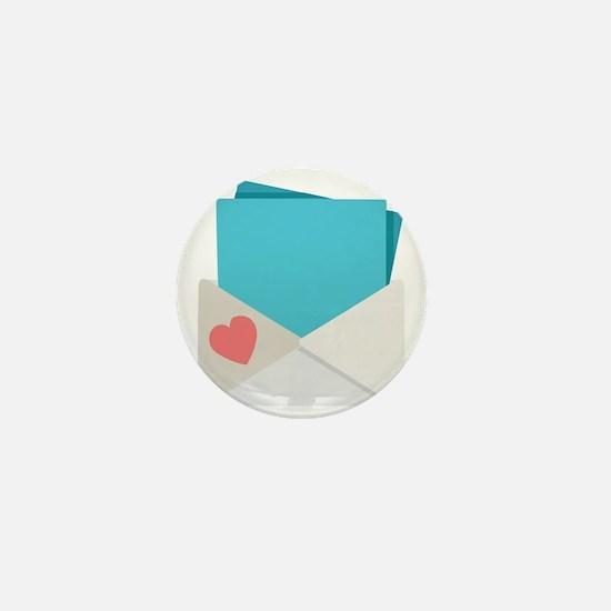 Love Letter Mini Button