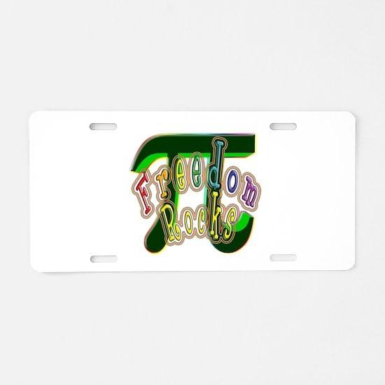 Pi 001 Aluminum License Plate