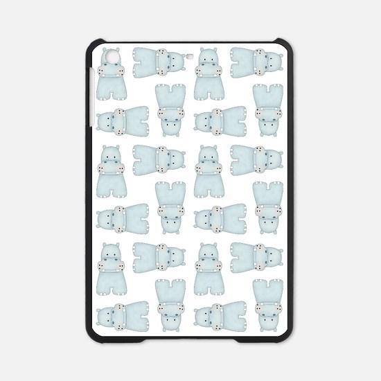 BABY BLUE HIPPOS iPad Mini Case