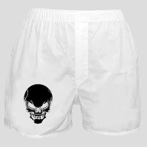 Black Skull Design Boxer Shorts
