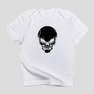 Black Skull Design Infant T-Shirt