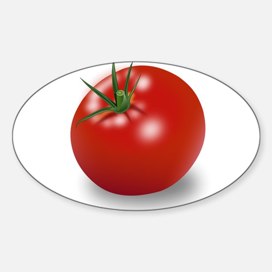 Red tomato Decal