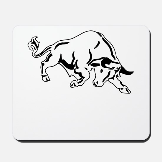 Charging Bull Mousepad