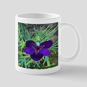 Pi 004 Blue Lilly Mug