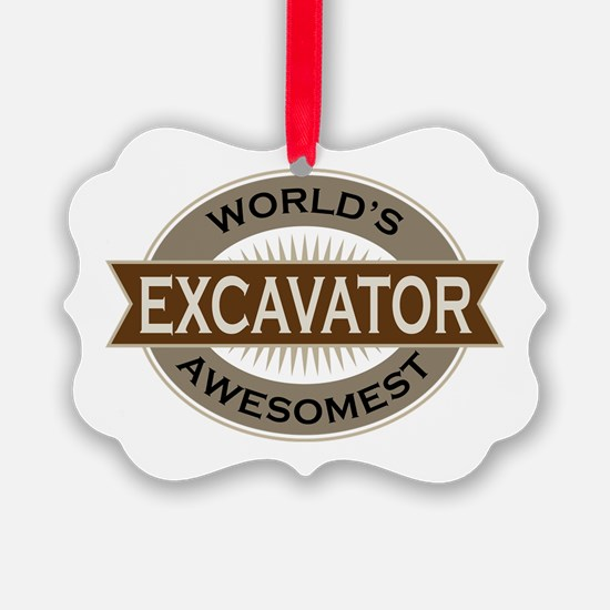 Excavator (Awesome) Ornament