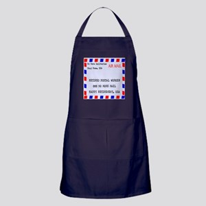 Retired Postal Worker Apron (dark)