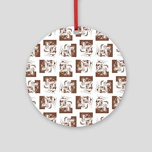 FISHERMAN Ornament (Round)