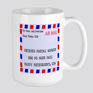 Retired Postal Worker Mugs