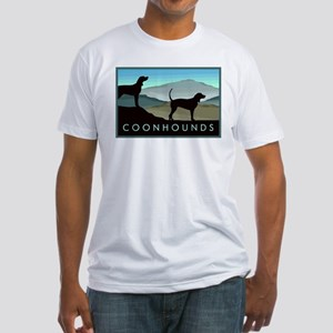 Blue Hills Coonhounds Fitted T-Shirt