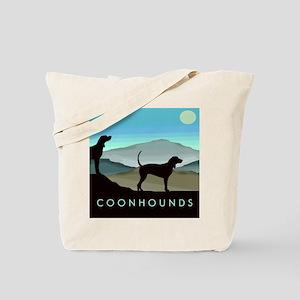 Blue Hills Coonhounds Tote Bag