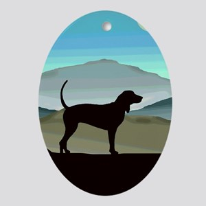 Blue Hills Coonhounds Ornament (Oval)
