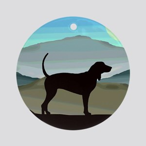 Blue Hills Coonhounds Ornament (Round)