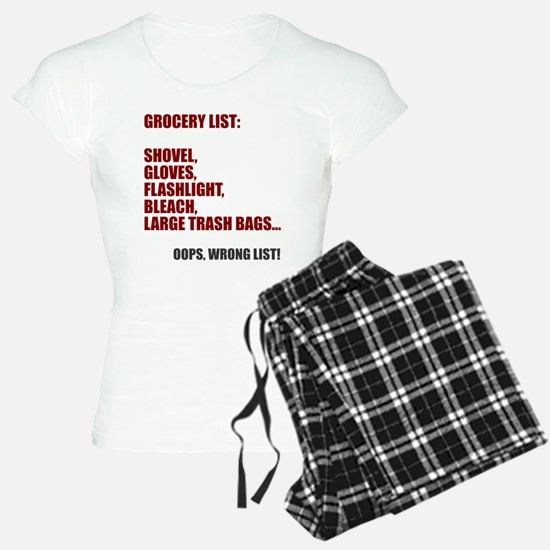 Oops wrong list Pajamas