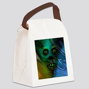 Ghastly Ghoul Canvas Lunch Bag