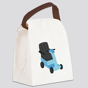 Scooter Canvas Lunch Bag