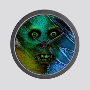 Ghastly Ghoul Wall Clock