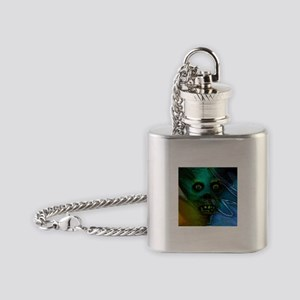 Ghastly Ghoul Flask Necklace