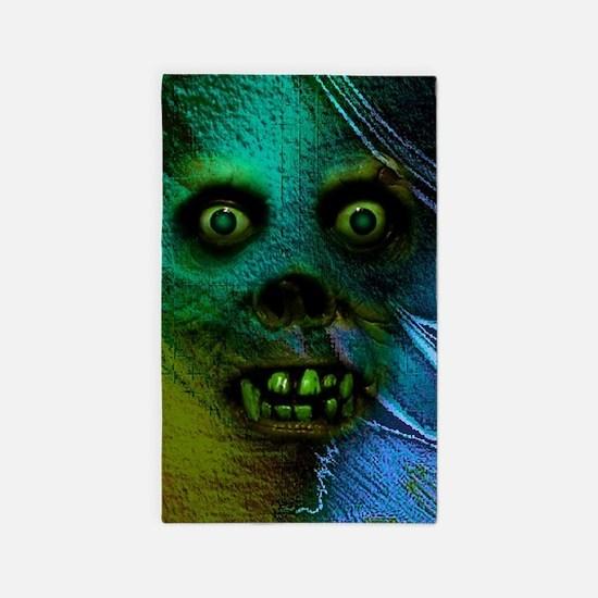 Ghastly Ghoul Area Rug