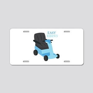 Easy Riding Aluminum License Plate