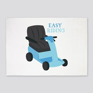 Easy Riding 5'x7'Area Rug