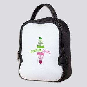 Badminton Champs Neoprene Lunch Bag